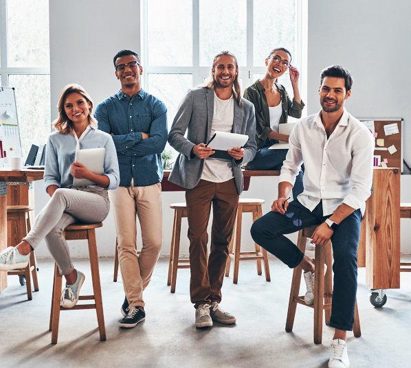 people smiling indoor